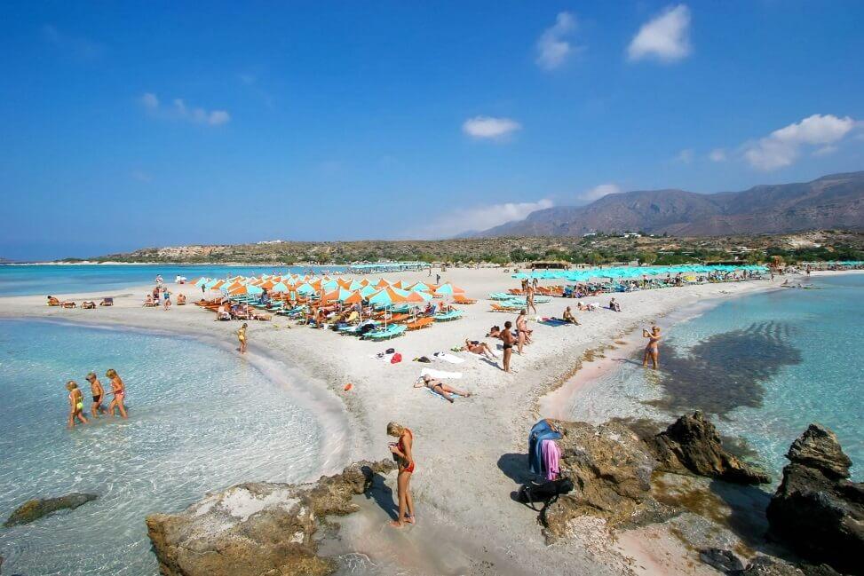 Quelle plage faire en Crète ?