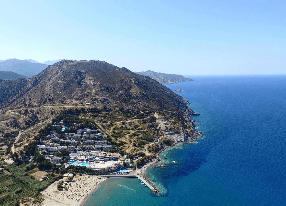Hôtel tout compris en bord de mer en Crète
