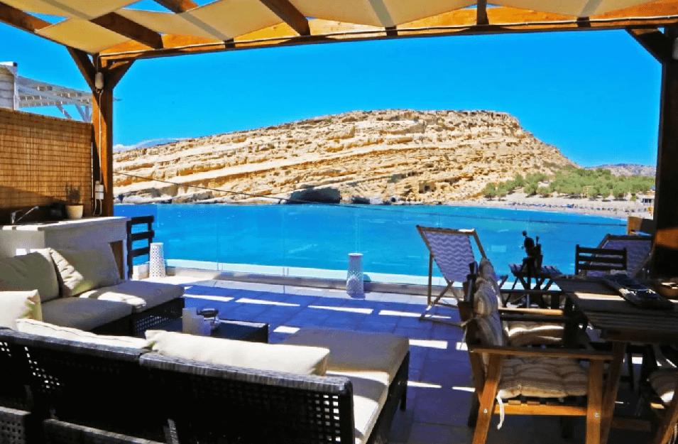 Où dormir à Matala Beach ?