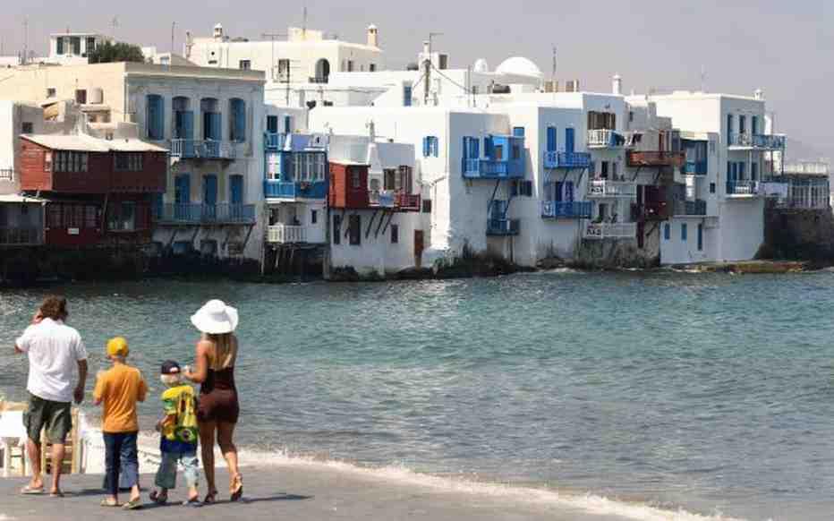 Quand partir dans les Cyclades?