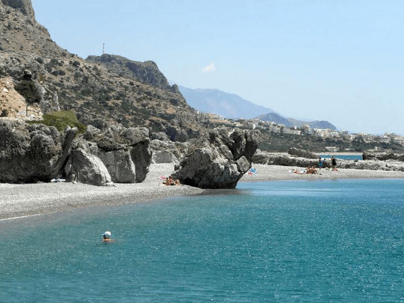 Où se baigner dans le sud de la Crète ?