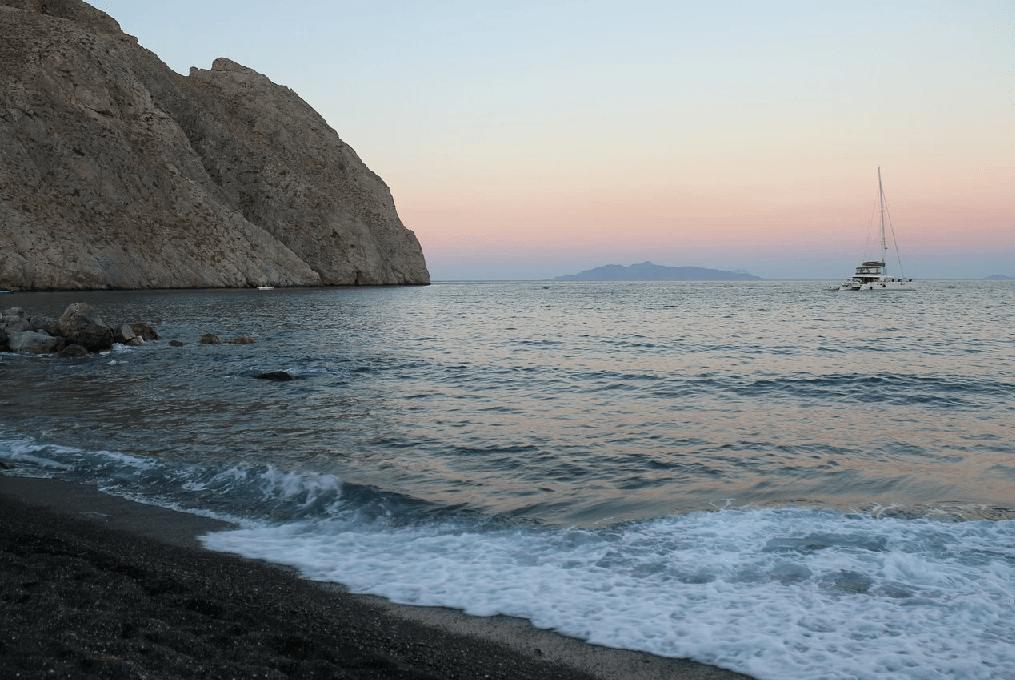 Où se baigner à Santorini ?