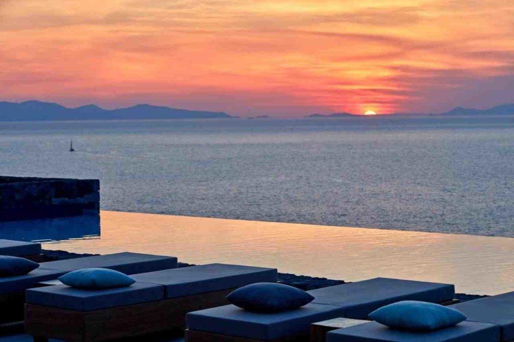 L'hôtel Canaves Oia Epitome à Santorin